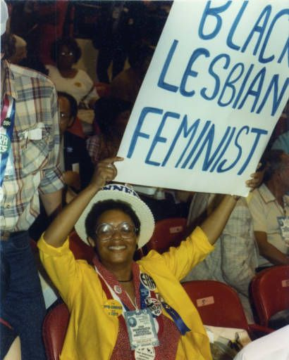 Lesbian & Gay Caucus at Democratic Convention :: ONE National Gay and Lesbian Archives