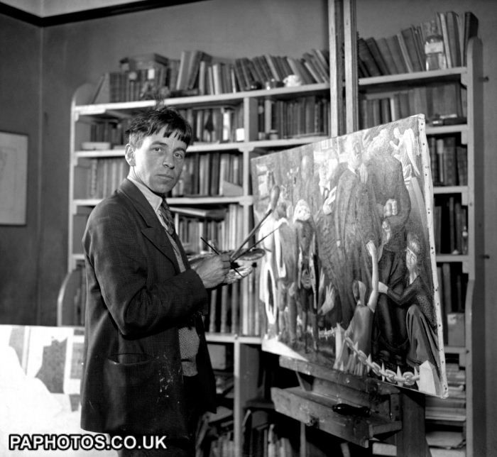 British Art & Artists - Painting - Stanley Spencer - Cookham - 1932