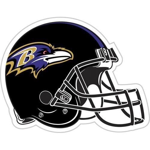 Baltimore Ravens NFL 12 Vinyl Magnet
