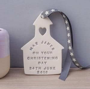 Personalised Ceramic Christening Gift - Give a Christening gift that shows they are truly cherished. Thoughtful and original, lots of the products can be personalised as they are created by talented independent designers or small creative businesses.