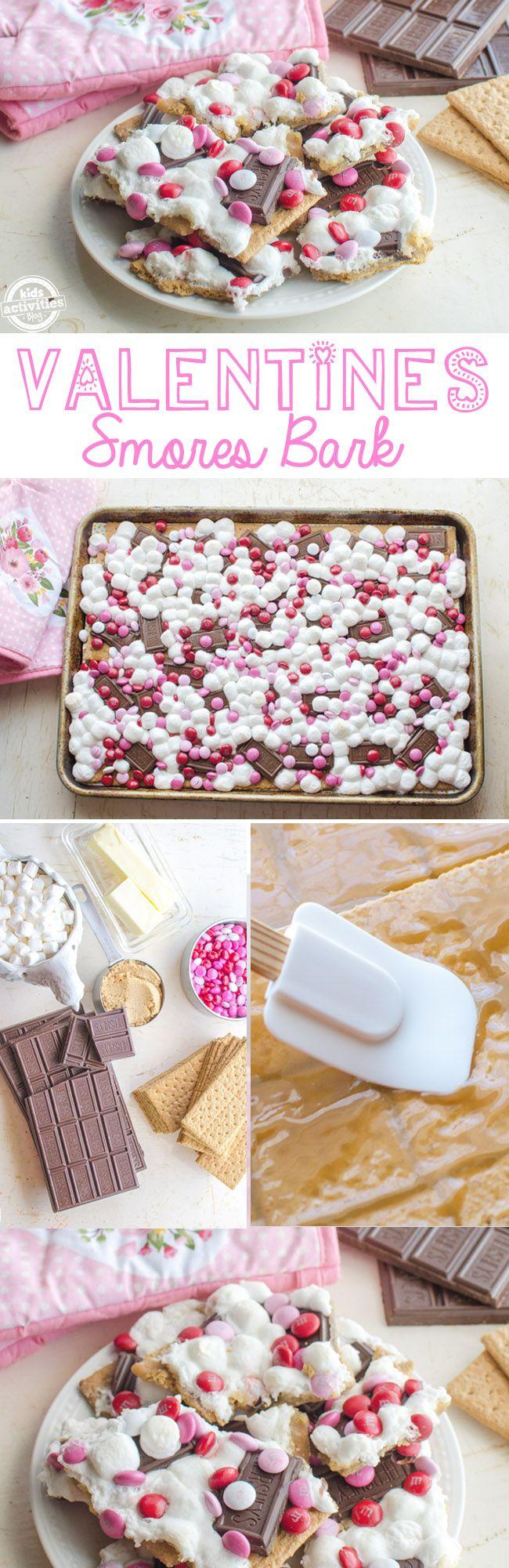 {Valentines Day Dessert} Smores Recipe