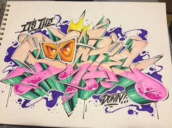 47 Best Graffiti Font Images On Pinterest