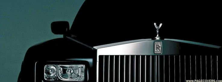 Rolls Royce Black Facebook Cover - PageCovers.com