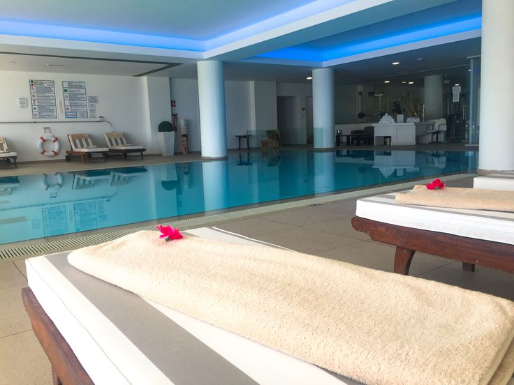 A relaxing #spa treatment is not complete without a dip in our indoor pool! http://www.greciansands.com/spa-hotel-cyprus.html