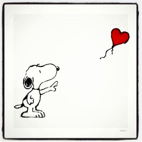 Snoopy Heart Daily Motivational Quotes