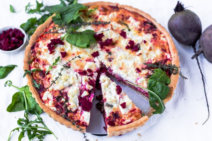 Make this delicious Thermomix Beetroot Feta Tart at home for the whole family. It is a healthy recipe that is easy to prepare in your Thermi.