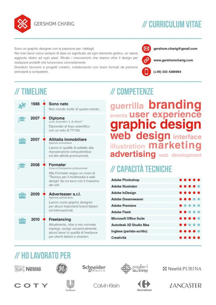 50 inspiring resume designs and what you can learn from them - Instructional Design Resume