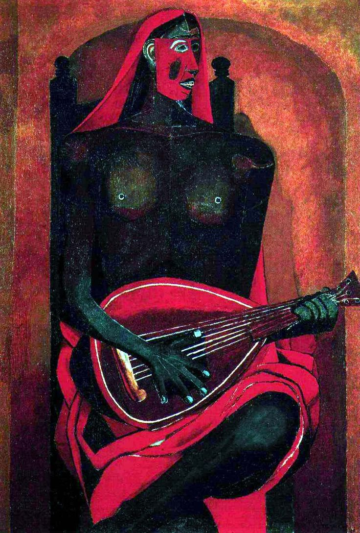 """Man and Woman"""", 1972 by Rufino Tamayo. Description from pinterest.com. I searched for this on bing.com/images"""