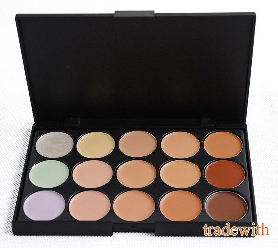 Find More Concealer Information about Professional 15 Colors Cream Concealer Foundation Makeup Palette Cover Speckle Free Shiping,High Quality Concealer from david cao's store on Aliexpress.com