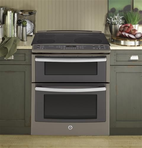 """PS950EFES   GE Profile™ Series 30"""" Slide-In Double Oven Electric Convection Range   GE Appliances"""