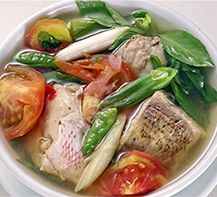 [Resep] Sup Ikan Kuah Asam Khas Manado http://www.perutgendut.com/read/sup-ikan-kuah-asam-manado/651