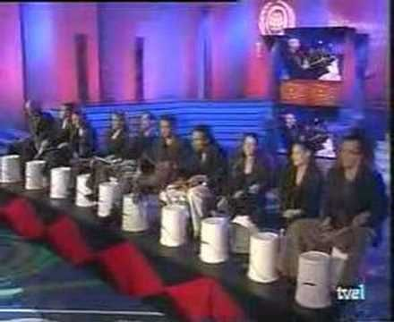 mayumana hand clapping and bucket drumming.. wow