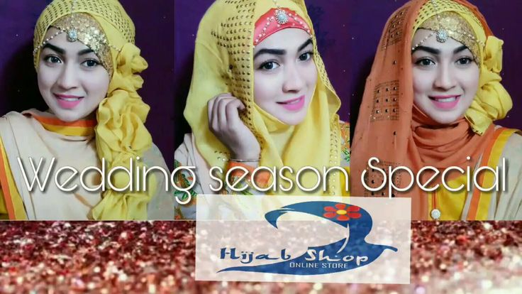 Happy Wedding Season Special Hijab Tutorial Pari ZaaD By Human Advices