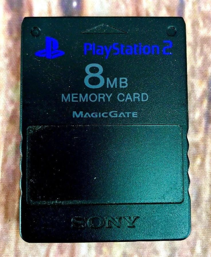 8MB Memory Card Full Working Order Playstation 2 Video Game PS2 genuine sony vgc