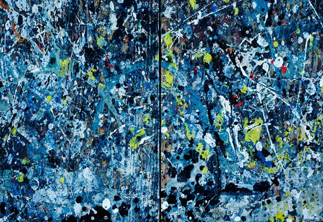 Jackson Pollock, unique disorder