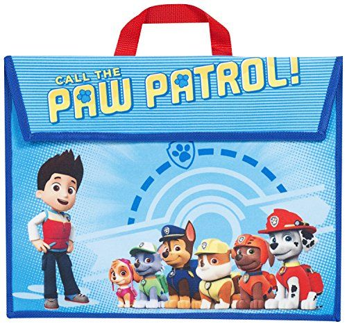 From 4 99 Official Licensed Paw Patrol School Book Bag 40 X 30xm