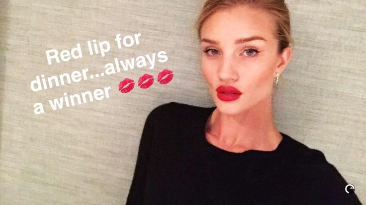 236 best Style Diary: Rosie Huntington Whitley images on ... Rosie Huntington Whiteley Lipstick