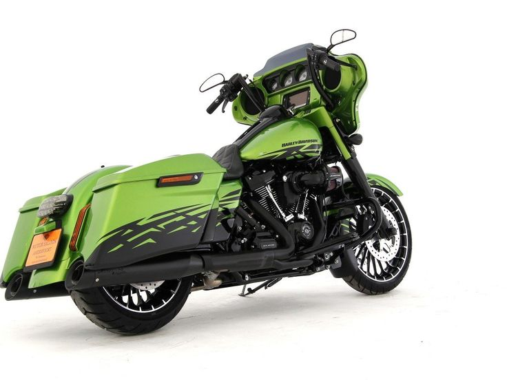 Harley-Davidson-FLHXS Street Glide Special FLHX Streetglide - Paintset Radiation – (1 km) | Motor Saloon