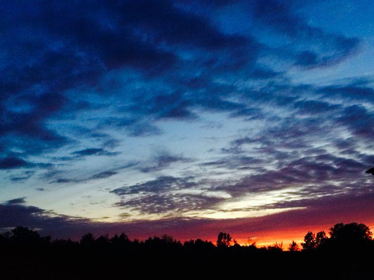 Oshawa at sunset