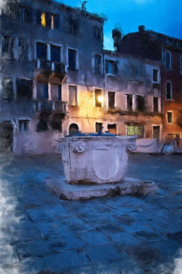 Venice drawing: Robert Bondarowicz