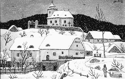 Josef Lada Vanocni Obrazky | Vánoční výstava Josefa Lady