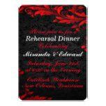 Glowing Fall Wedding | Rehearsal Dinner Card