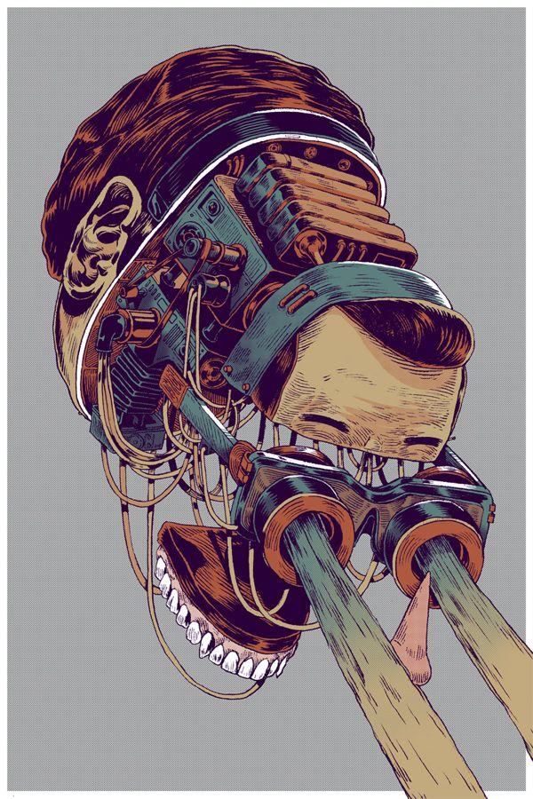 First Art Print Series by Smithe , via Behance