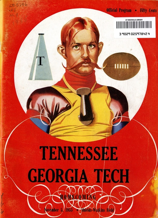 UT vs. Georgia Tech (Homecoming, November 5, 1955)