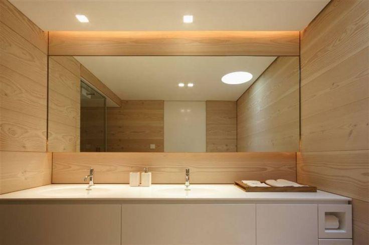 15 Besten Ideen einen Großen Spiegel für Badezimmer Wände