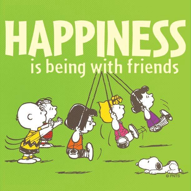 Quotes About Love And Friendship And Happiness: Snoopy Friend Quotes. QuotesGram