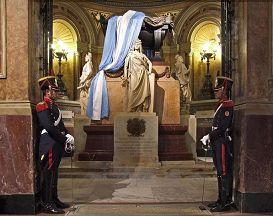 MAUSOLEO DEL General JOSÉ SAN MARTÍN in Buenos Aires City.
