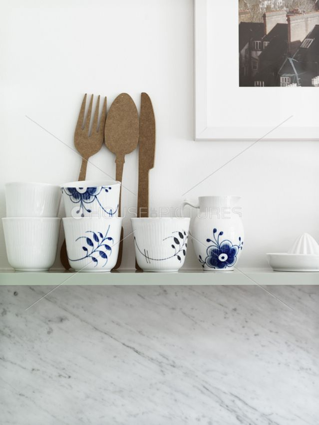 a little blue + white, Swedish style...