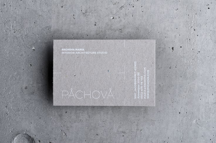 Pachova interior architecture studio logo design #logotype #logo #architecture #interior
