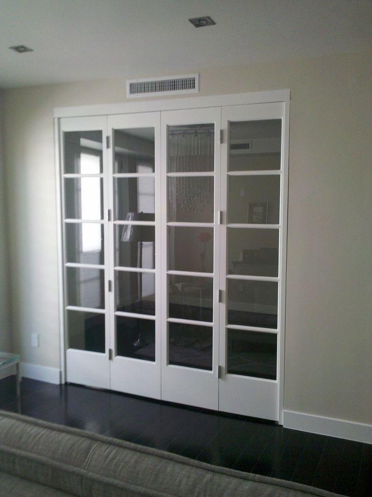 Exquisite exodus door and window custom home office - Interior bifold doors with glass ...