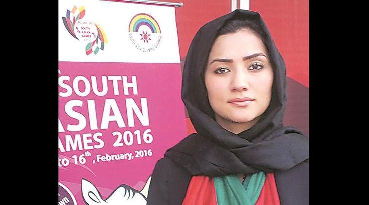 south asian games, sag 2016, 2016 sag, 2016 soth asian games, Afghanistan sag 2016, Robina Jalali, afghanistan olyimpics committee, sports news, 2016 sag news, latest news