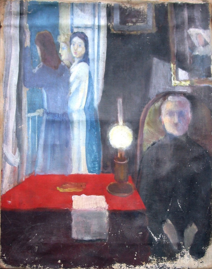 Edward Munch's lost picture