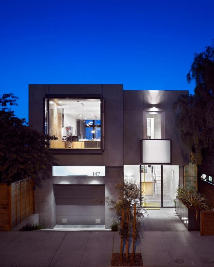Cube House Design Exterior With Garage And Floor Plans Using Concrete  stunning contemporary urban house design529 best Home design images on Pinterest   House design  . Urban Home Design. Home Design Ideas