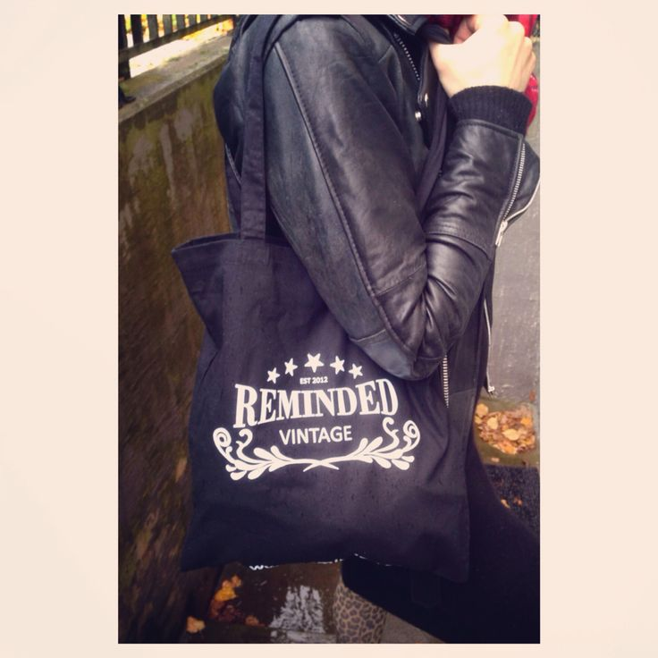 remindeds own tote bag!
