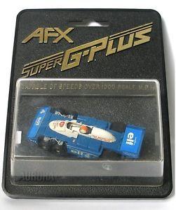 1980 Tomy Aurora Japan SUPER G-Plus 041 Indy F1 Tyrrell P34 Elf First National Bank RARE Box