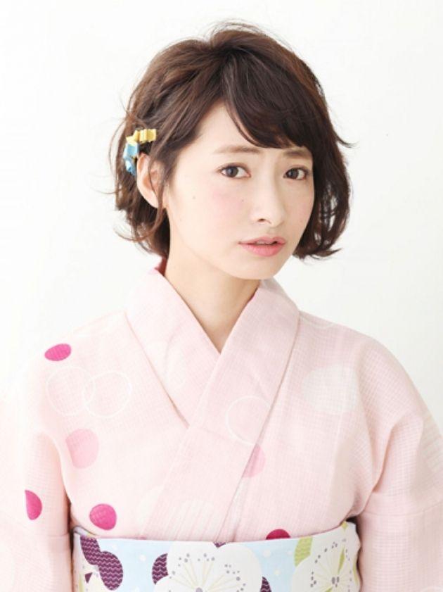 短い髪でも可愛く。着物に合わせるショートのヘアスタイルまとめ - Yahoo! BEAUTY