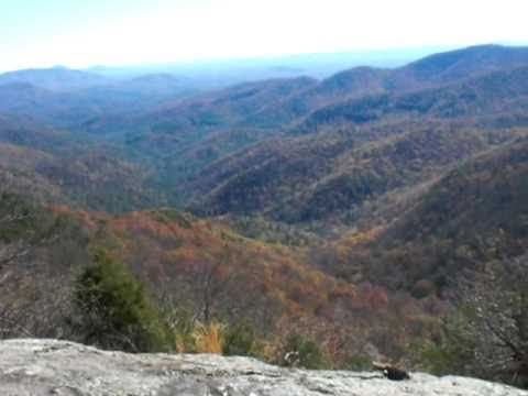 Preachers Rock hike on the AT near Dahlonega, GA. Is located up by Woody Gap.