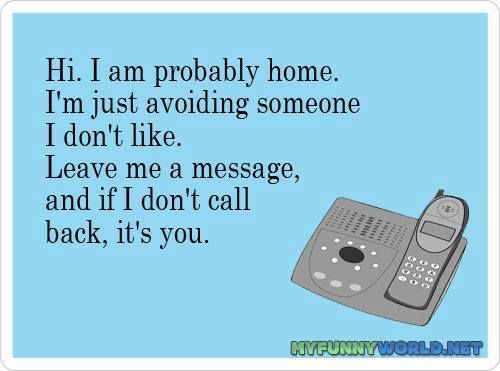 adult answering machine message