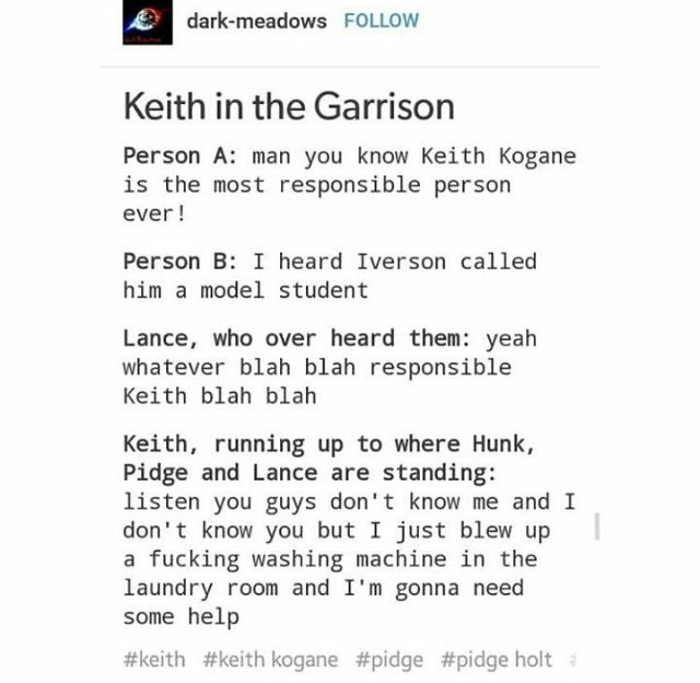 All these Keith in the Garrison memes are so funny jdhdhsj