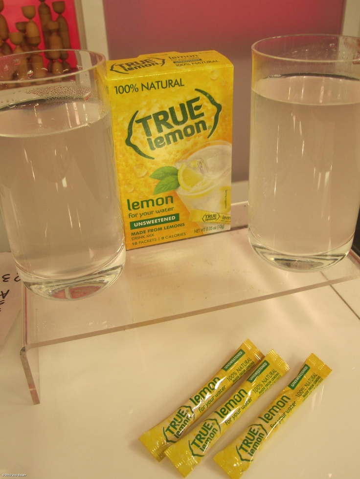 how to make lemonade with stevia packets