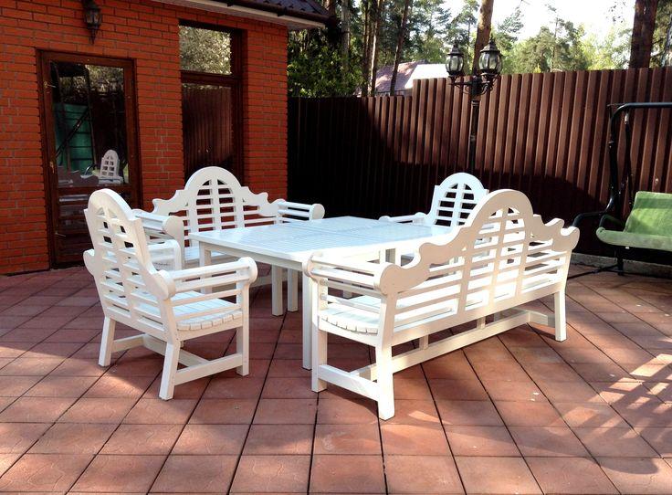 LUTYENS BENCH Великолепный комплект состоящий из двух скамеек, двух кресел и двух столов, Все   предметы исполнены в стиле Эдвина Лаченса, Аналогов не существует, 8-916-591-78-95 РОССИЯ