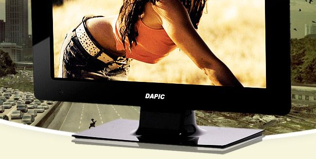 Dapic 15-inch LED LED TV with inbuilt DVD player@ only Rs 7299.Led Led, 15Inch Led, Led Tv, 15 Inch Led