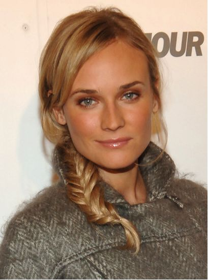 Diane Kruger. #makeup #hairstyle #celebrity