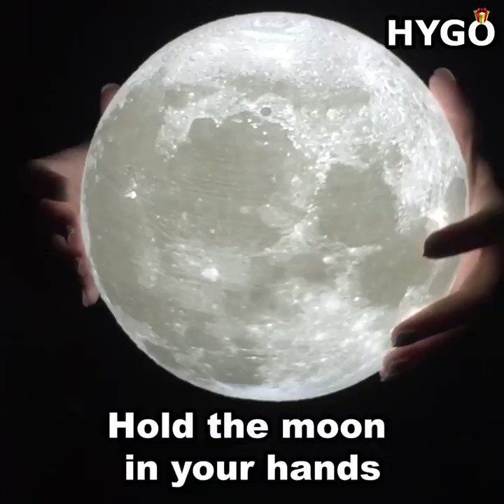Hygo Shop On Twitter Bring The Moon Out Of The Sky And Into Your Room Get Yours Here Https T Co Lzi8rbahzt Lamp Night Light Moon
