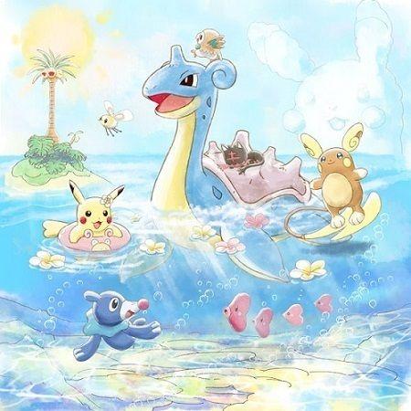 海辺で遊ぶピカチュウたちがかわいい! リゾート気分満載のポケモンの一番くじ、4月1日よりスタート