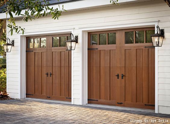Best 25 garage doors ideas on pinterest garage door for Cedar wood garage doors price